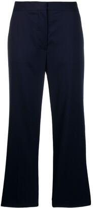 Stella McCartney Cropped Straight Trousers