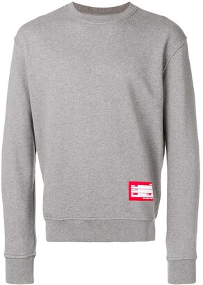 Ami Sweatshirt With Patch Name Tag