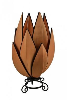 Rovan Artichoke Small Table Lamp Copper With Black Trim