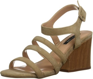 Kensie Women's Ebony Heeled Sandal