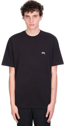 Stussy T-shirt In Black Cotton