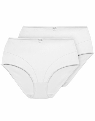 Exquisite Form Womens Medium Control Shaper Brief Panty(Pack of 2)