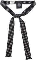 Saint Laurent polka-dot ascot neck-tie