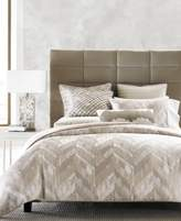 Hotel Collection Distressed Chevron Full/Queen Comforter