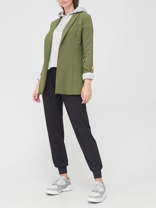 Very Tab Sleeve Edge To Edge Jacket - Khaki
