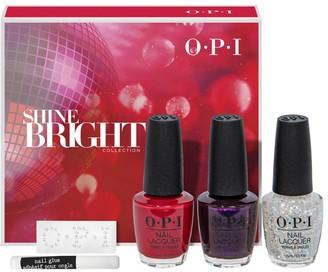 OPI + Swarovski Shine Bright 3-Piece Nail Lacquer Set