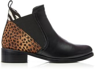 Moda In Pelle Key Black - Multi Animal Leather