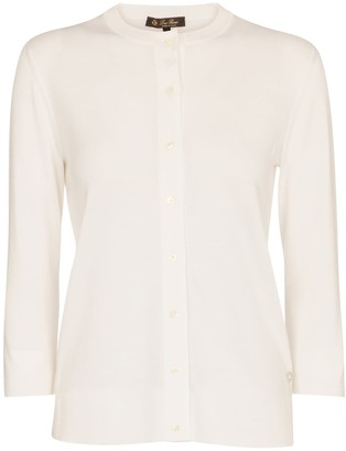 Loro Piana Ventotene cotton and silk cardigan