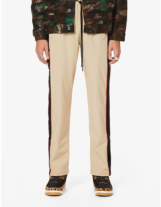 Just Don Track Team crepe trousers