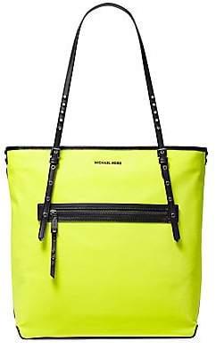 MICHAEL Michael Kors Women's Large Leila Neon Tote Bag