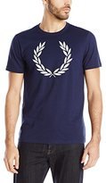Fred Perry Men's Textured Laurel Wreath