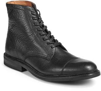 Frye Seth Cap Toe Leather Boots