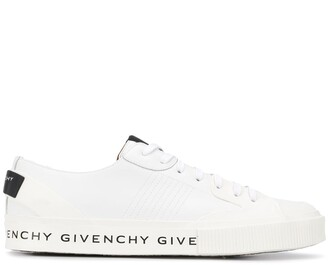 Givenchy logo print tennis sneakers
