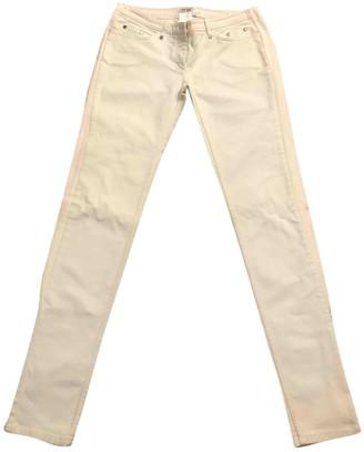 Christian Dior White Denim - Jeans Trousers