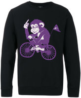 Paul Smith monkey print sweatshirt