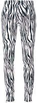 Giamba zebra print trousers
