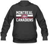QUFGH Women's Montreal Canadiens Logo Hoodie