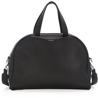 The Row Leather Bowling Bag