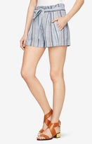 BCBGMAXAZRIA Renee Striped Shorts