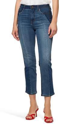 Sanctuary Modern Standard High Waist Crop Jeans