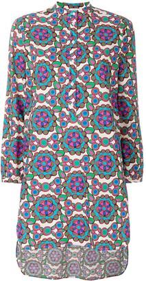 La DoubleJ Kaleidoscope beach shirt dress