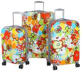 Olympia Blossom 3-Piece Luggage Set