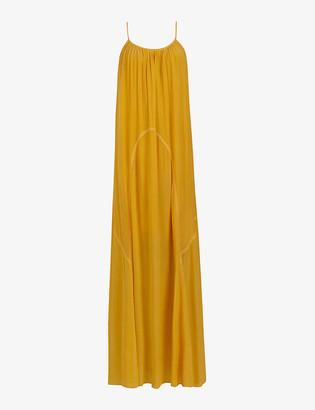 AllSaints Amor woven maxi dress