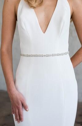 Brides & Hairpins Basilka Crystal Sash