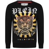 Philipp Plein Philipp PleinBoys Black Platin Light Sweatshirt
