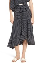 Faithfull The Brand Women's Kamares Ruffle Midi Skirt