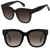 Women's Perverse Dawn Patrol 47Mm Sunglasses - Black/ Black
