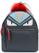 Fendi Bag Bugs backpack - women - Fox Fur/Polyester - One Size