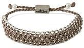"""Wakami Women's Bracelet Single Wide Strand - Gray (6.5"""")"""