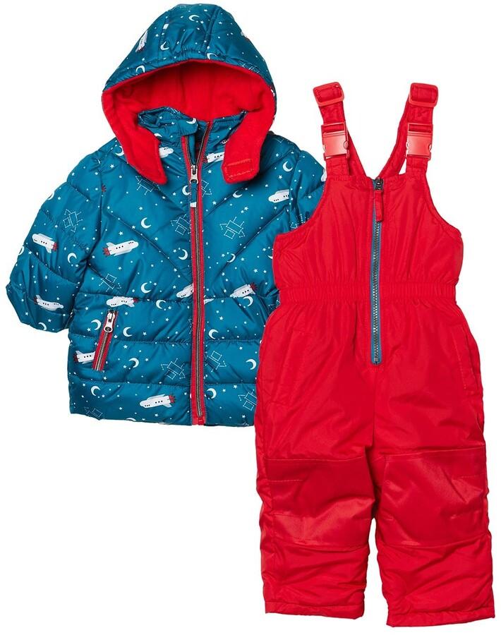 Racoon Baby-M/ädchen Lamont Dot Winter Suit Snowsuit
