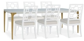 Chelsea Expandable Dining Furniture, 7-Pc. Set (Table & 6 Side Chairs)