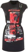DSQUARED2 Punk Rock Mini Dress