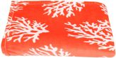 Thro Kalvin Coral Throw Blanket in Coral