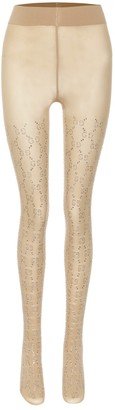 Gucci GG crystal-embellished tights