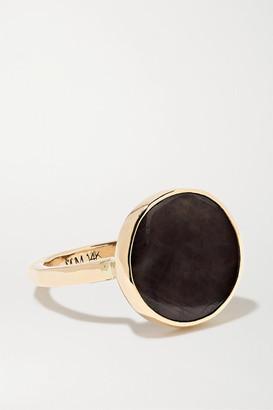 Melissa Joy Manning + Net Sustain 14-karat Gold Sapphire Ring - 6