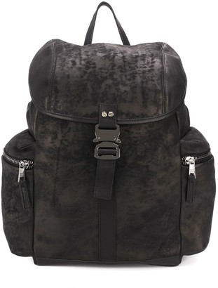 Giorgio Brato Side-Pockets Buckle Backpack