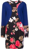 MSGM flower print longsleeved dress