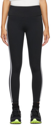 adidas Black 3-Stripes Leggings