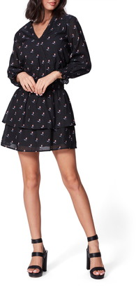 Paige Serrano Long Sleeve Fit & Flare Dress