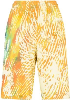 adidas x Pharrell Williams tie dye shorts