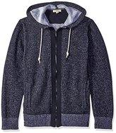 Calvin Klein Jeans Men's Plated Jersey Hoodie