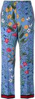 Gucci New Flora pajama trousers - women - Silk/Cotton/Viscose - 40