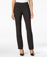 JM Collection Petite Pull-On Slim Pants, Created for Macy's