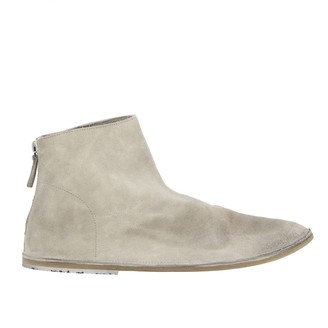 Marsèll Strasacco Zip Ankle Boot In Suede