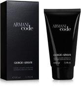 Giorgio Armani Code for Men Shaving Cream, 5.1 oz