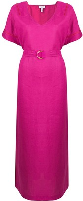 Escada Sport V-Neck Belted Dress